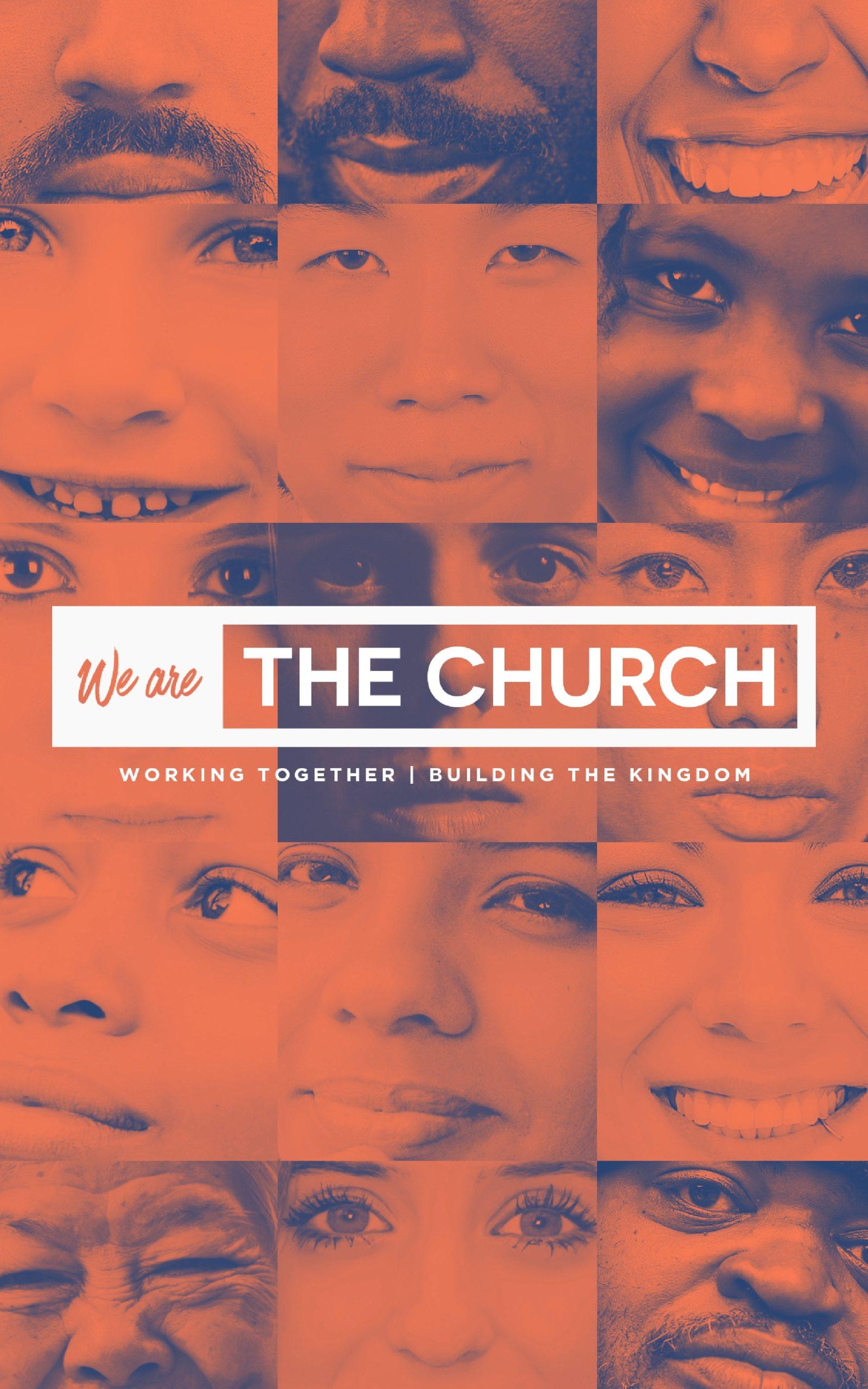 We Are the Church Sermon Bulletin